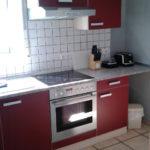 Ein Foto der Küche in Wohnung 1 Ferienwohnung Erpel
